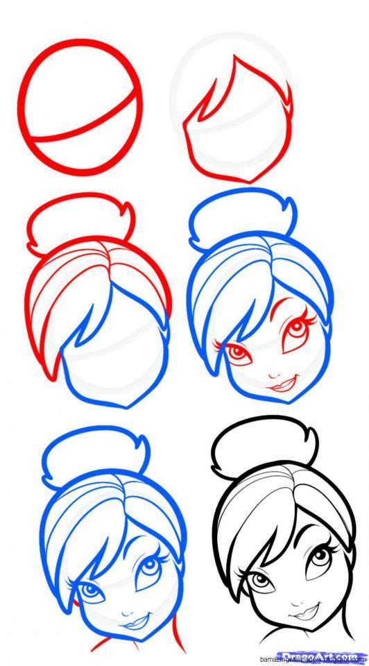 Рисуем пошагово онлайн